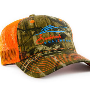 Scarborough-Boatworks-218-Orange-Mossy-Oak-Trucker-Hat