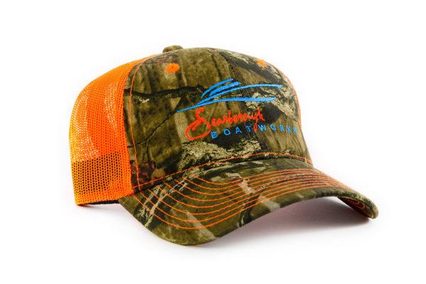 Scarborough-Boatworks-218-Orange-Mossy-Oak-Trucker-Hat