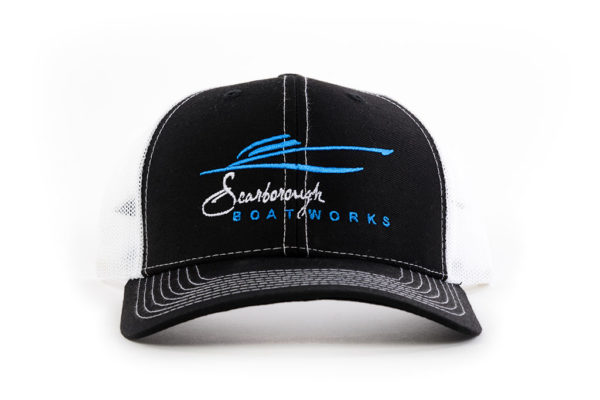 Scarborough-Boatworks-Black-White-Trucker-Hat-214